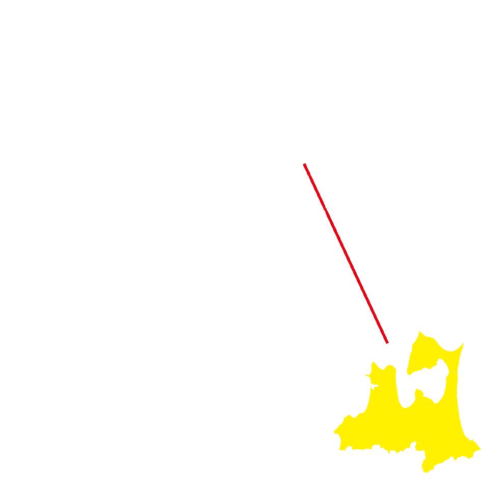 青森の地図