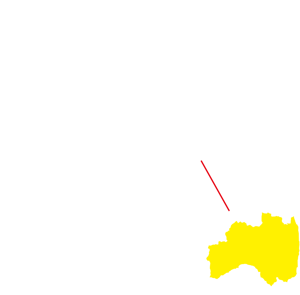 福島の地図