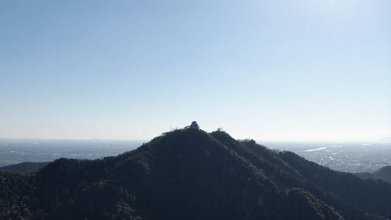 金華山2(空撮)