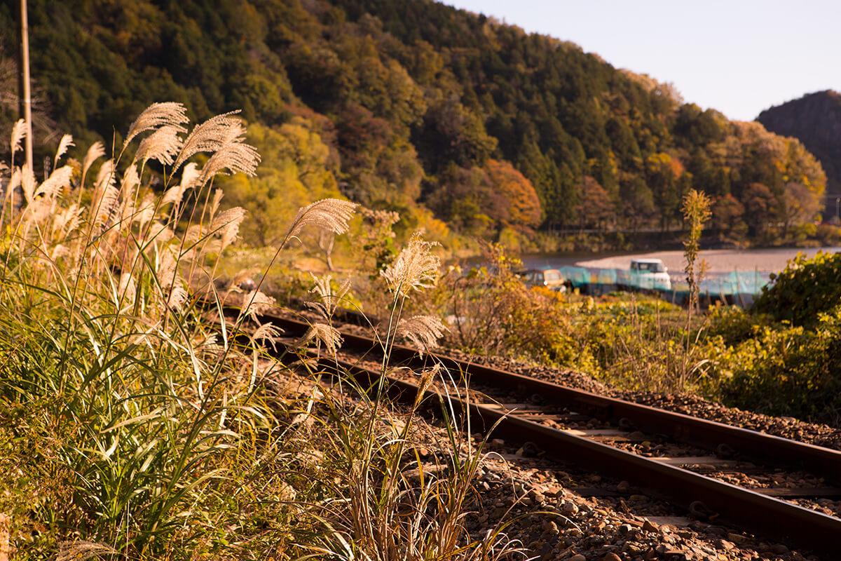 秋の鉄道(電車なし)